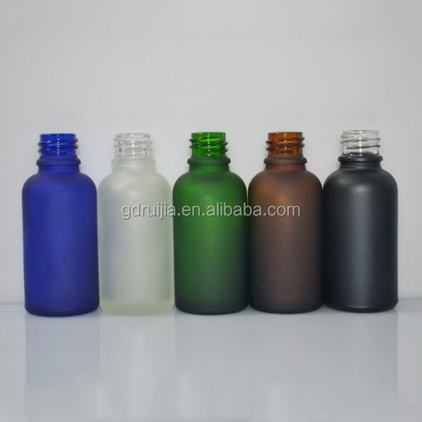 Boston Round Glass Bottles & Fine-Mist Sprayers black bottles small beautiful glass bottle wholesale canada