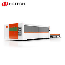HGTECH 8mm carbon steel cnc automobile interior decorate laser steel cutting machine