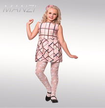 MANZI manufactory 16 years professional OEM jacquard design software high elasticity pantyhose for babies