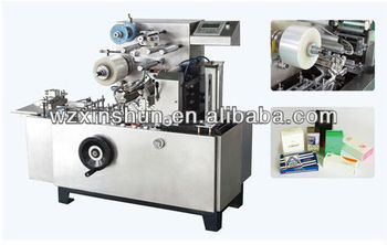 New Design Adjustable Cellophane Over Wrapping Machine