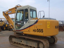 New arrival Kato used HD-555 Hydraulic Crawler Excavator for sale