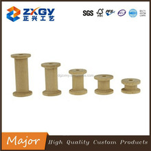 Various Size of Wooden Spool, Wooden Wire Spool, Empty Ribbon Spools
