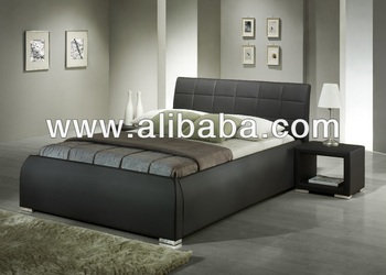 Bedroom Furniture/ Faux Leather PU Bed / Terzo Bed