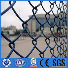 Electro galvanized steel wire mesh fencing/Used chain link wire fencing