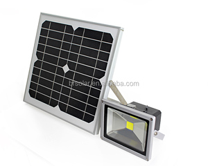 BR 20W SOLAR LED FLOOD LAMP WALL MOUNTED FOR OUTDOOR , ENERGY SAVING