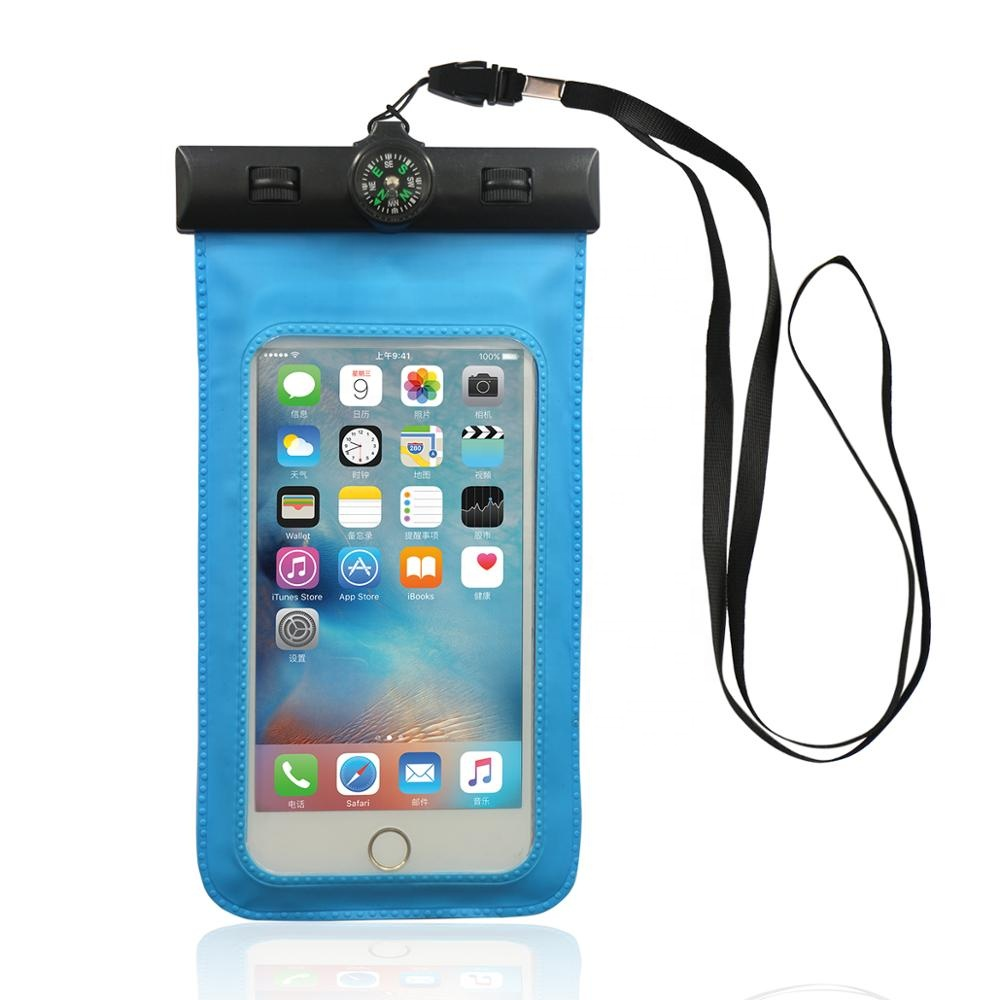 High quality custom waterproof mobile phone pouch