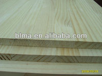 Yellow New Zealand pine teak wood rubberwood finger joint board