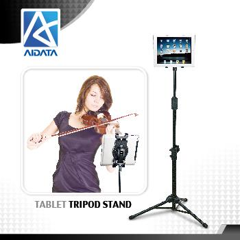 AITADA Taiwan Adjustable Folding Tripod Tablet Floor Stand