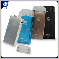 2017 year electronic cigarette second hand smoke, electronic cigarette manufacturer HSJ China