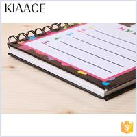 Hot selling paper wholesale custom office notebook and diary