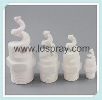 PVC spiral spray water jet nozzle