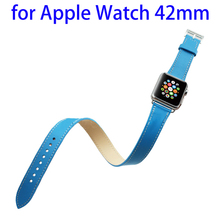 Paypal acceptable genuine leather for apple watch band strap