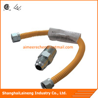 304 ss flexible metal gas cooker connection hose