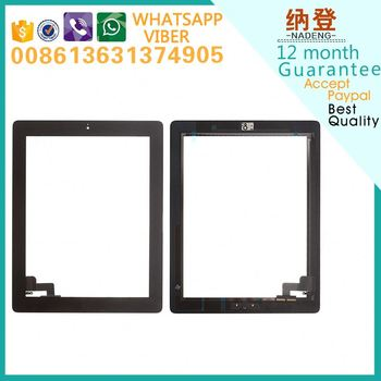 Original quality replacment screen touch for ipad 2 ship by DHL or UPS