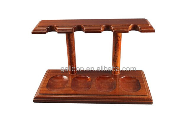 Engraved Tobacco Smoking Pipe Rack Stand For 4 Pipes GP-3041