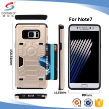 Alibaba express China cell phone sticker car holder bumper case for samsung galaxy s7 edge back cover