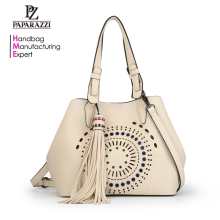 5897-2018 Wholesale fashion ladies craft punch tassel bag women hot handbags products