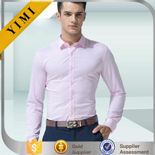 wholesale OEM long sleeve solid color office shirt mens dress shirts