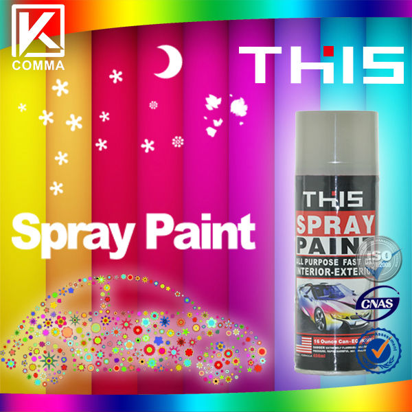ISO9001 Eco-friendly Multipurpose Motorcycle Spray Paint