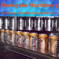 Ultra clean Aseptic cold filling aluminum beer can manufacturer Cans filling line