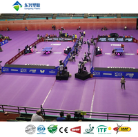 ITTF approved synthetic table tennis court flooring price