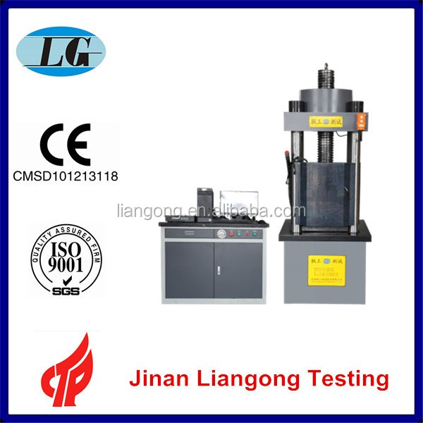 Used cement stone concrete brick Compression testing equipment YAW-1000