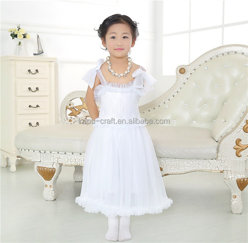 Beautiful Flower girl dresses dress girl summer 2016 best buy baby cream dresses