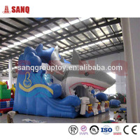 Theme Amusement Inflatable Slide Banzai Inflatable Water Slide