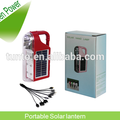 6 LED emergency and 1LED torch Solar LED lantern with lead acid battery