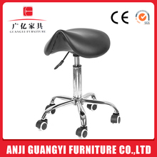 GB-608 Professional salon furniture saddle stool barber chair