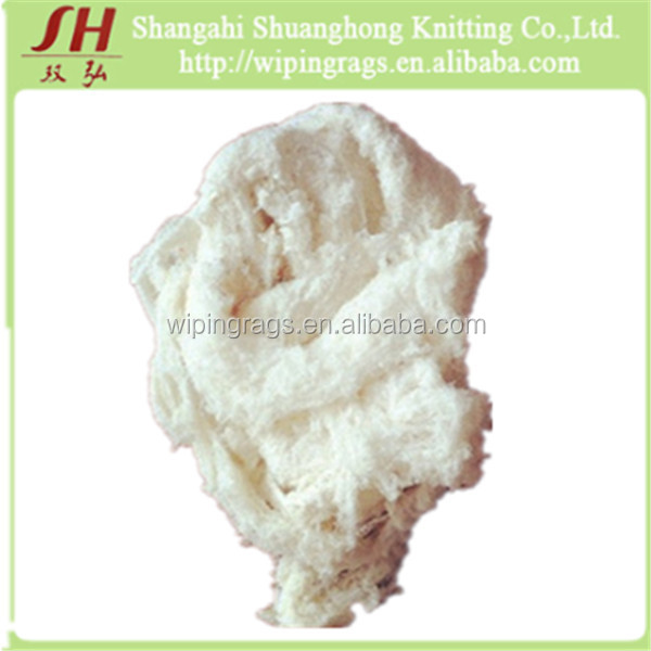 High quality cotton yarn waste