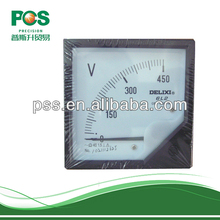 2014 Hot Sell Electric 80*80 Analog Volt Meter