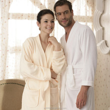 Trendy Design High Quality 100% Cotton Terry Hotel or Home Bath Bathrobe
