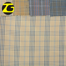 2018 Best price wholesale shaoxing yarn dyed plaid cotton shirt fabric