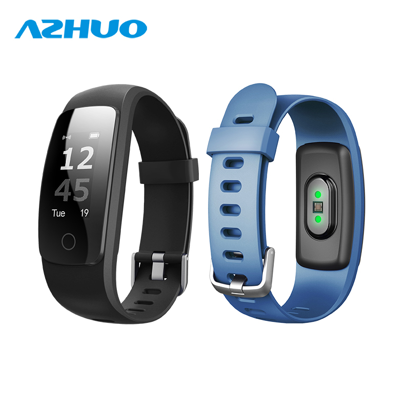 ID107 Plus HR Bluetooth 4.0 Smart Bracelet With Heart Rate Support Multiple Sport Mode Weather Alert Call Alert And Hang Up