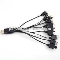 10 in 1 USB Charger Cable for Cell Phones