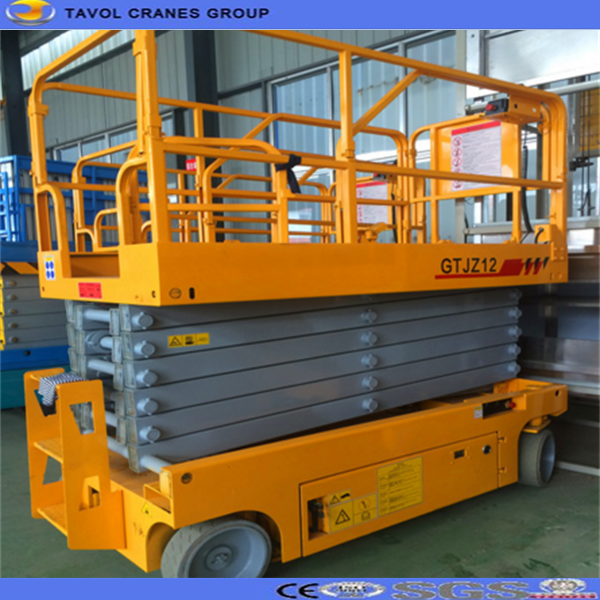 300KG Electric Scissor Lift for Warehouse