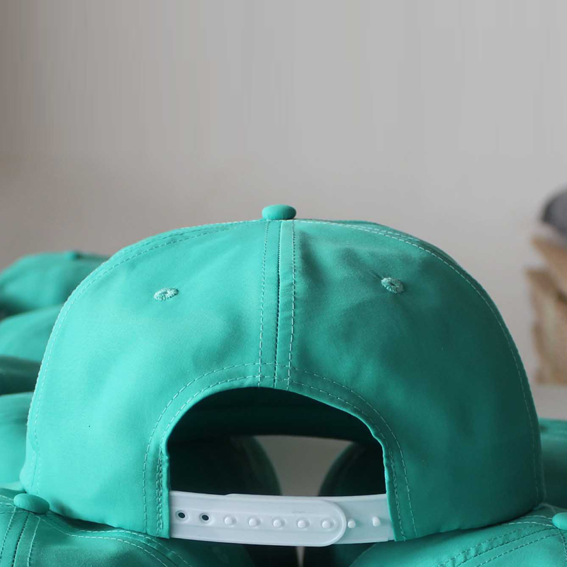 Fashion Custom Plain Blank Nylon Snapback Rope Hat Promotional/Snapback Cap with String
