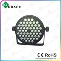54x3w rgbw led par light new case aluminum par can