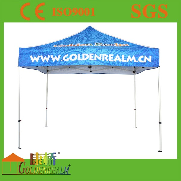 Vendor Tents For Outdoor Cheap steel folding gazebo , 10x10ft printing oxford canopy tent