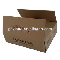 Custom corrugated cardboard packaging box with printing