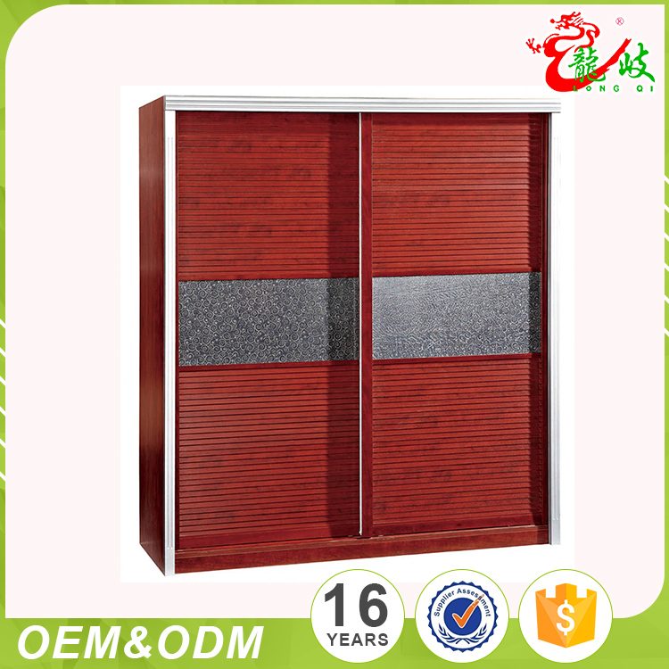 Wholesale Creative Fair Price High Gloss Bedroom Wood Furniture Armoire Wardrobe Closet Door Designs