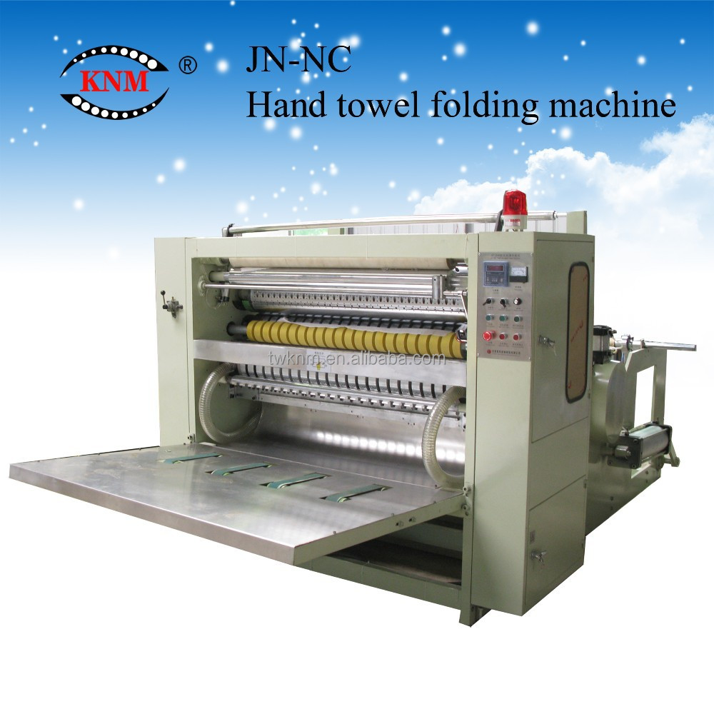 N fold automatic hand towel paper machine with CE certificate