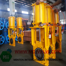 cast steel gate valve with rubber lining knife type gate valve better than check valve