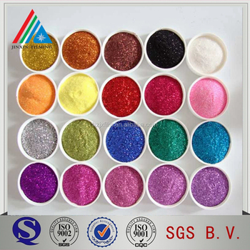 Glitter powder film