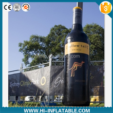 2015 Hot sale inflatable wine bottle,inflatable replicas model,inflatable model for advertising