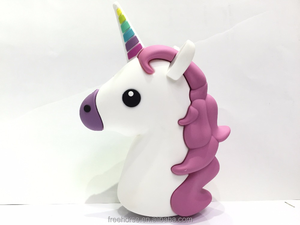 best selling products in philippine 2600mah emoji unicorn power bank