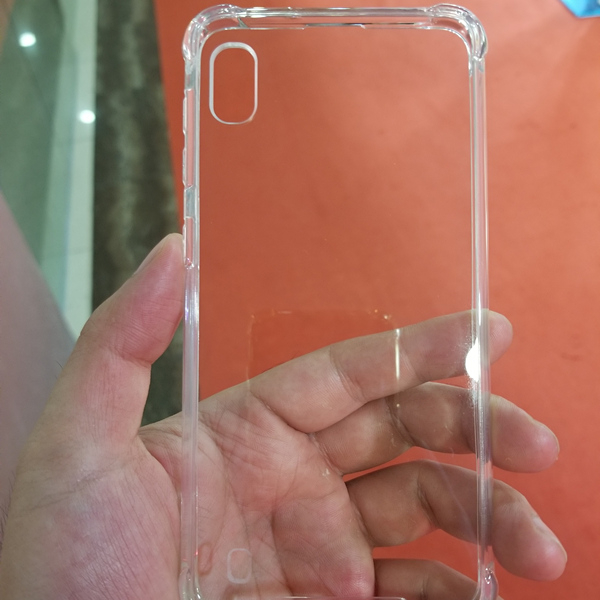 Clear Anti-Shock Soft TPU Crystal Transparent Slim Anti Slip Case for Samsung Galaxy <strong>A10</strong>