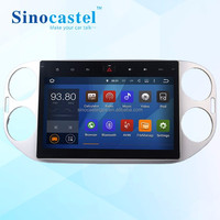 10.1 inch Android touch screen car dvd player car with GPS navigation for Tuguan, car dvd player manufacturer from China