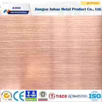 yogon surface stainless steel sheets 302 color stainless steel wire drawing board
